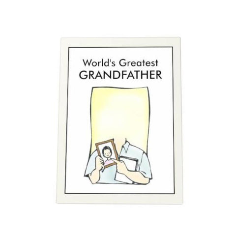 World's Greatest Grandfather Photo Plaque