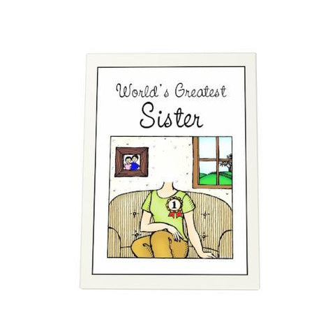 World's Greatest Sister Photo Plaque