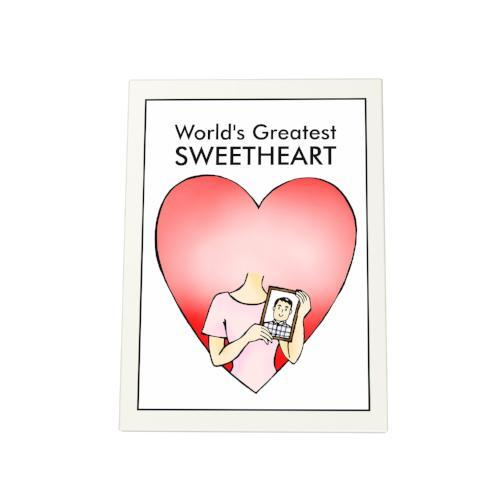 World's Greatest Sweetheart Photo Plaque