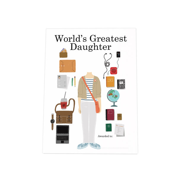 World's Greatest Daughter Photo Plaque