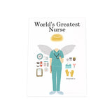 World's Greatest Nurse Photo Plaque: Female