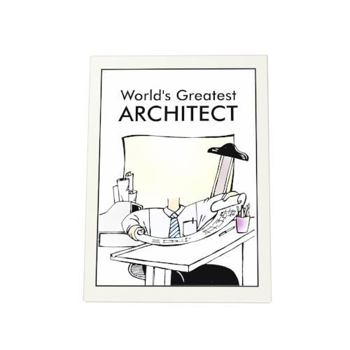 World's Greatest Architect Photo Plaque