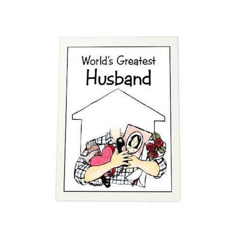 World's Greatest Husband Photo Plaque