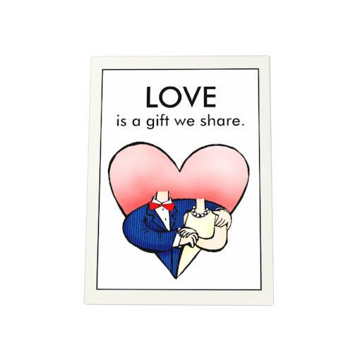 Love Is a Gift Photo Plaque