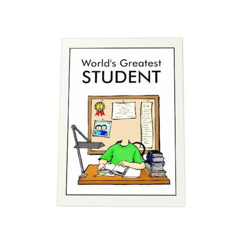 World's Greatest Student Photo Plaque