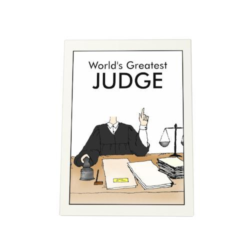 World's Greatest Judge Photo Plaque