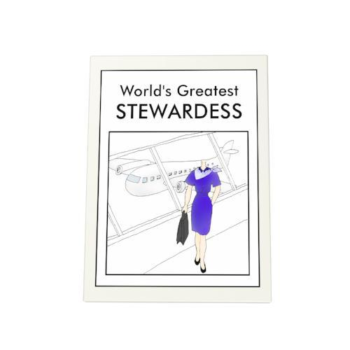World's Greatest Stewardess Photo Plaque
