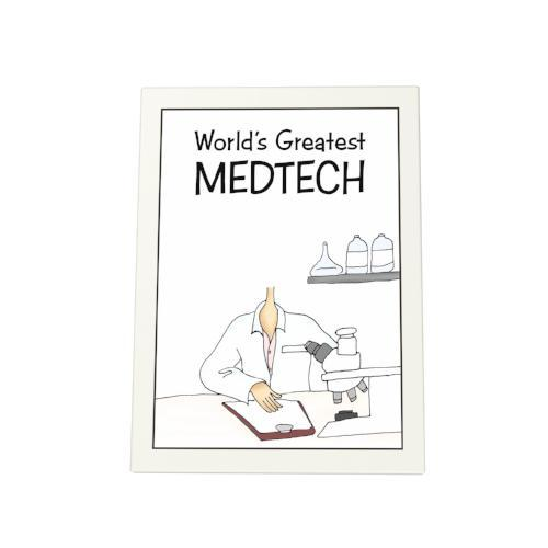 World's Greatest Medtech Photo Plaque