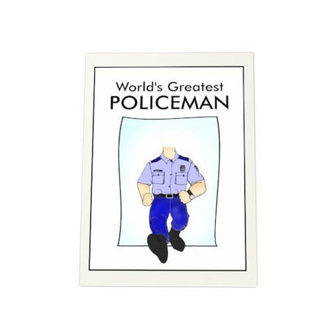 World's Greatest Policeman Photo Plaque