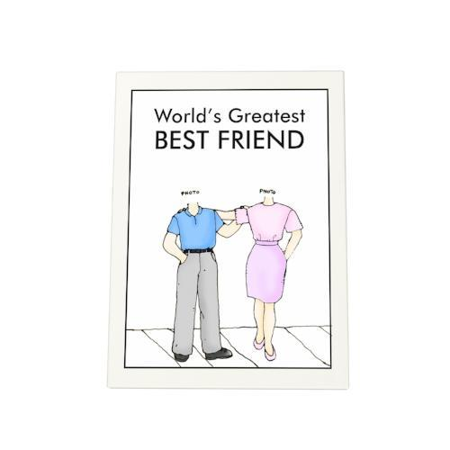 World's Greatest Bestfriend Photo Plaque