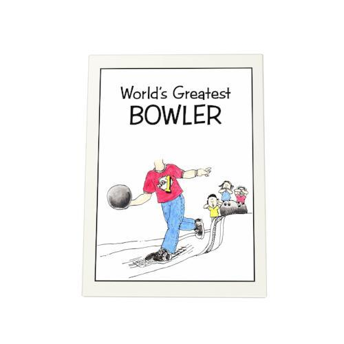 World's Greatest Bowler Photo Plaque