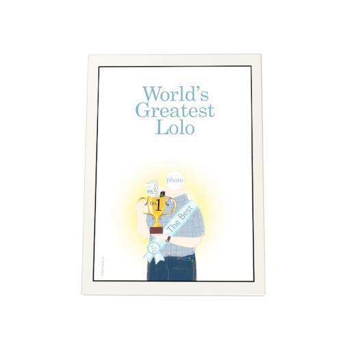 World's Greatest Lolo: Trophy Photo Plaque