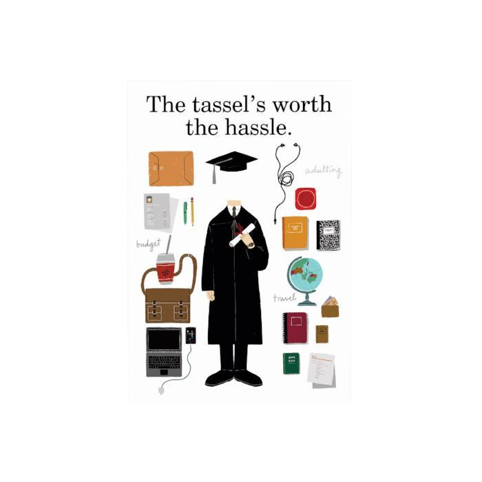 The Tassel's Is Worth the Hassle: Desk Plaque Male