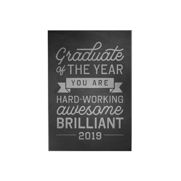 Graduate of the Year 2019 Desk Plaque