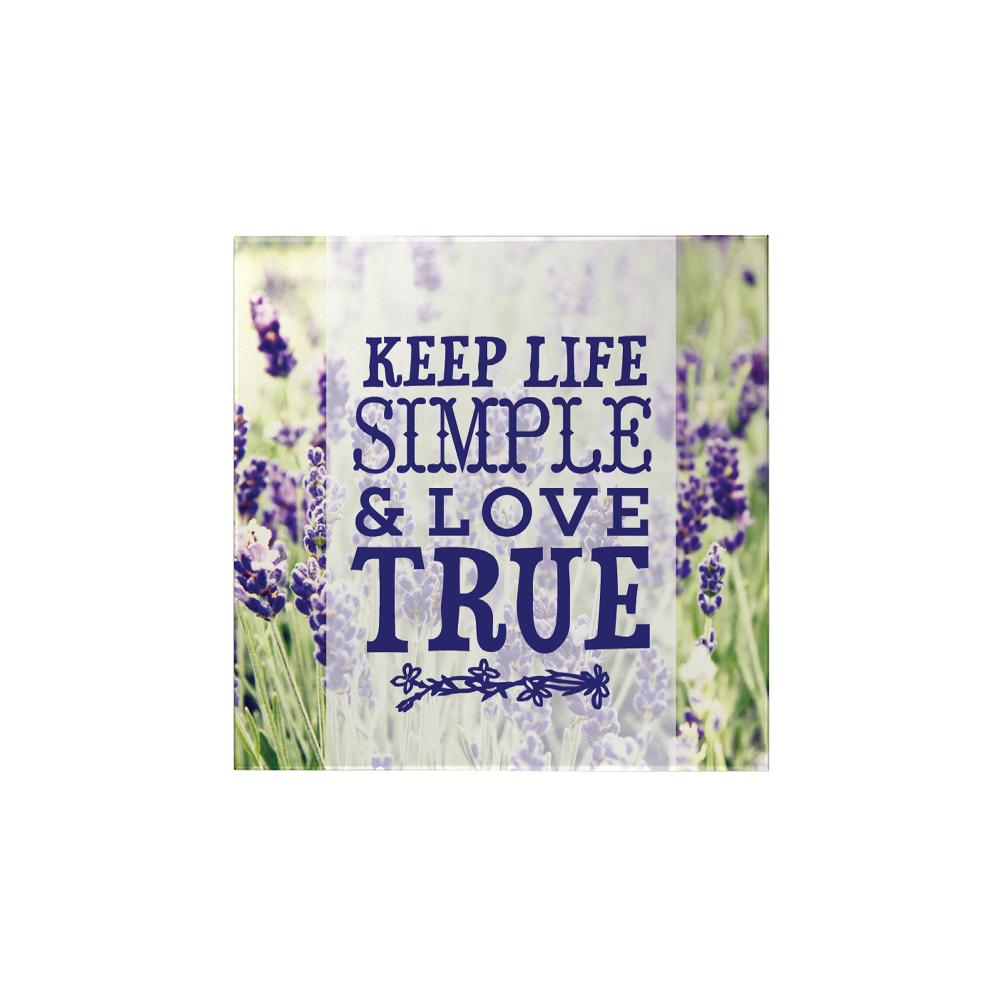 Keep Life Simple Magnet