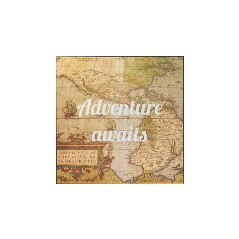 Adventure Awaits: Map Magnet