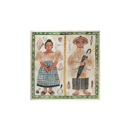Filipiniana Couple Magnet