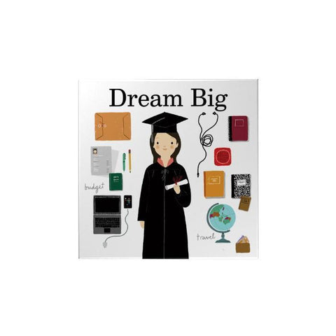 Dream Big Magnet: Girl