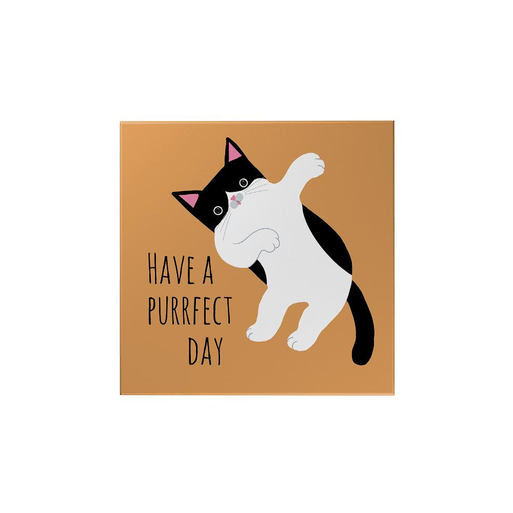 Pawsome: Have a Purrfect Day Magnet