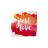 Watercolor: Just Love Magnet