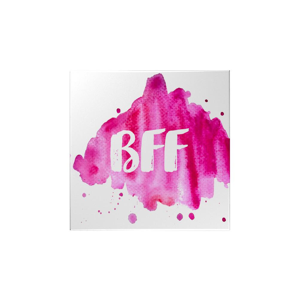 Watercolor: BFF Magnet