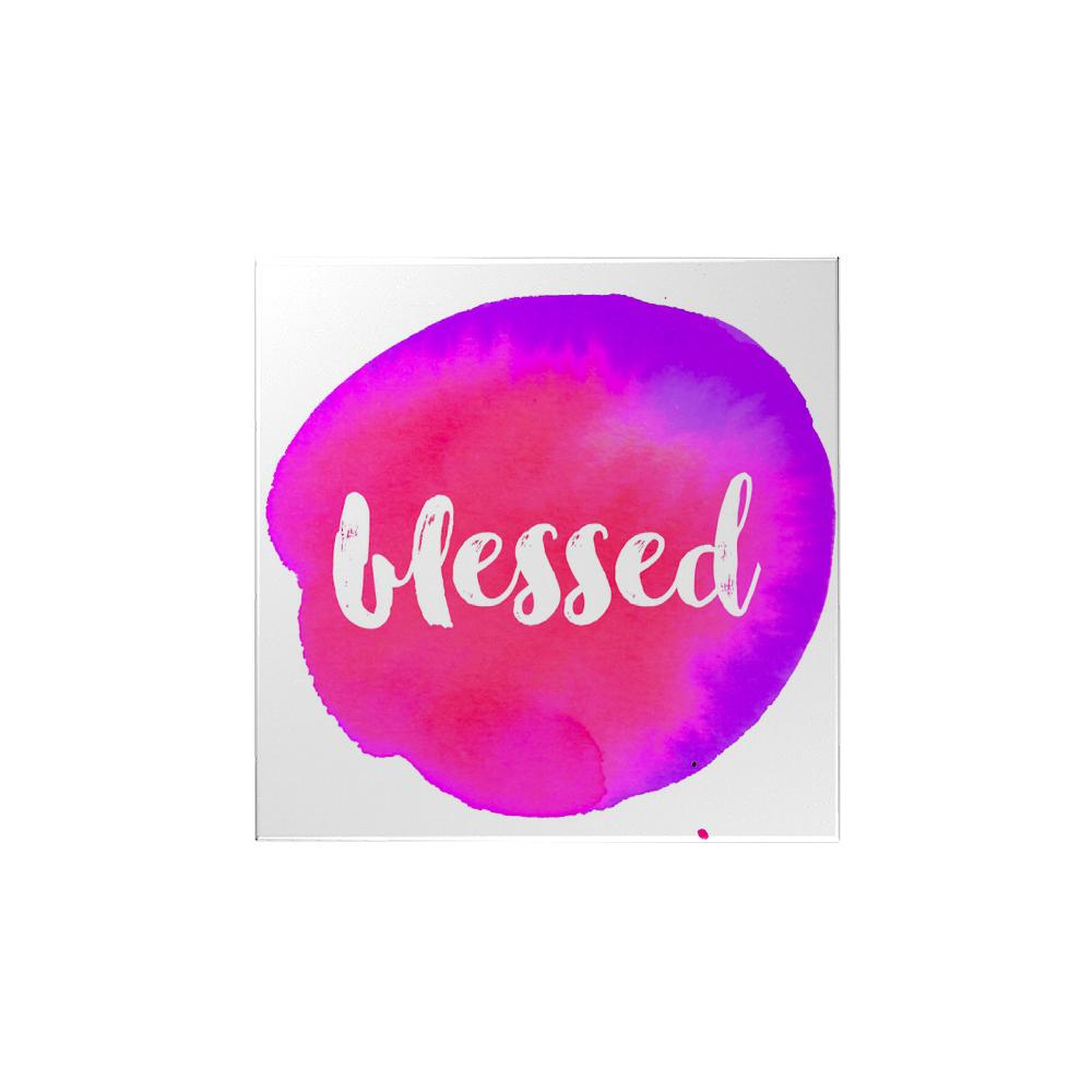 Watercolor: Blessed Magnet