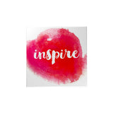 Watercolor: Inspire Magnet