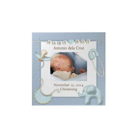 Baby Boy Personalized Magnet