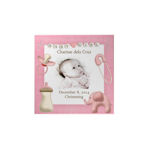 Baby Girl Personalized Magnet