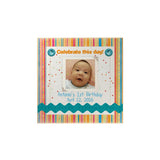 Baby Stripes Personalized Magnet