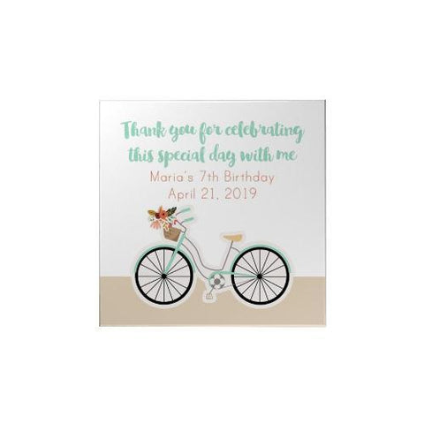 Bicycle Personalized Magnet
