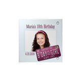Birthday Girl Personalized Magnet