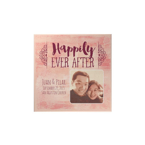 Happily Ever After Personalized Magnet