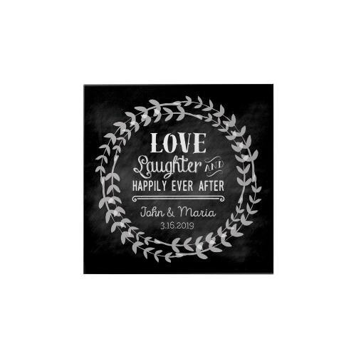 Love and Laughter Personalized Magnet