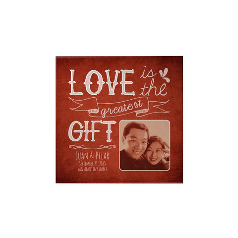 Love Is the Greatest Personalized Magnet