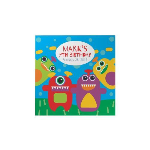 Monsters Personalized Magnet