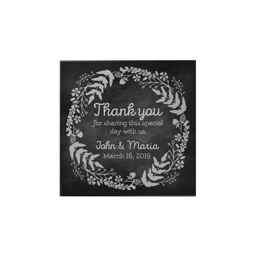 Thank You Personalized Magnet: Blackboard