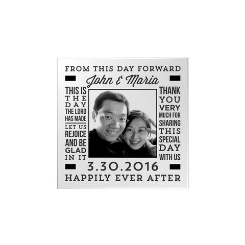 Wedding Typo Personalized Magnet