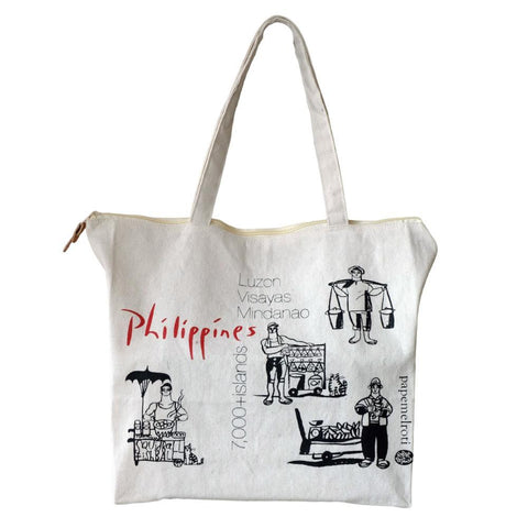 Philippine Islands Canvas Bag