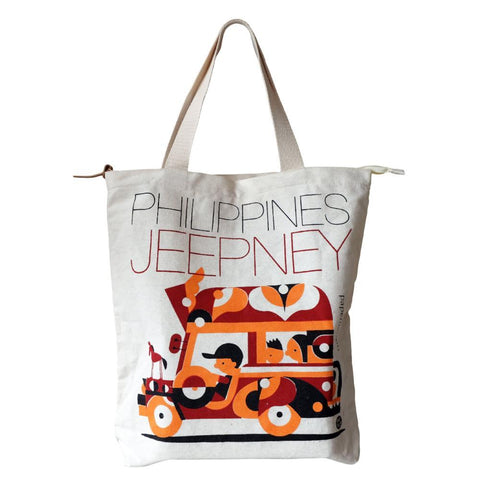 Philippine Jeepney Canvas Bag