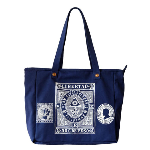 Stamps Canvas Bag