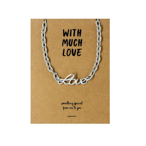 Love Bracelet Jewelry Gift Card