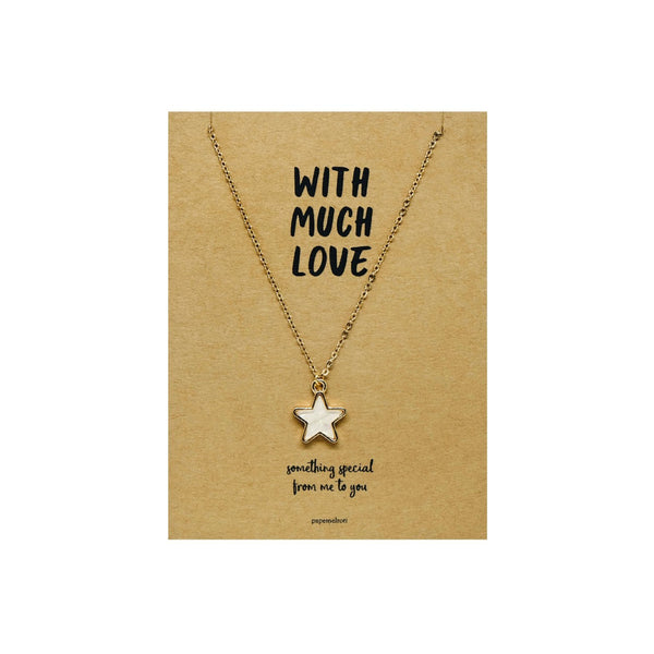 Star Necklace Jewelry Gift Card
