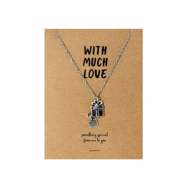 Gift Necklace Jewelry Gift Card