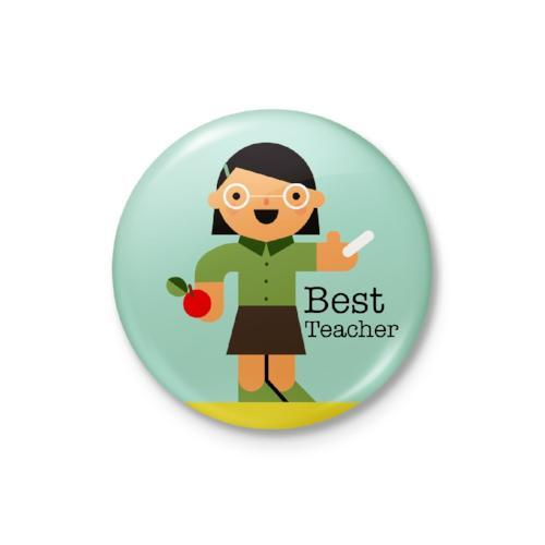 Best Teacher Badge: Female