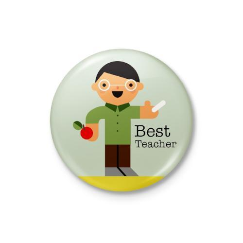 Best Teacher Badge: Male