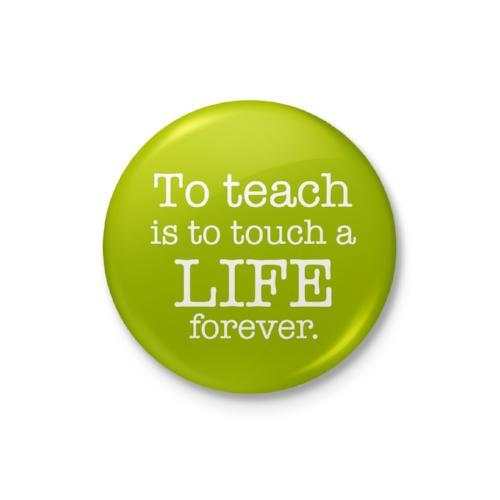 To Teach Is to Touch Badge