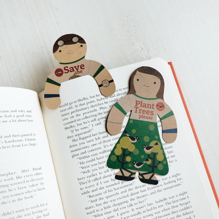 Just Enjoy Buddy Bookmark