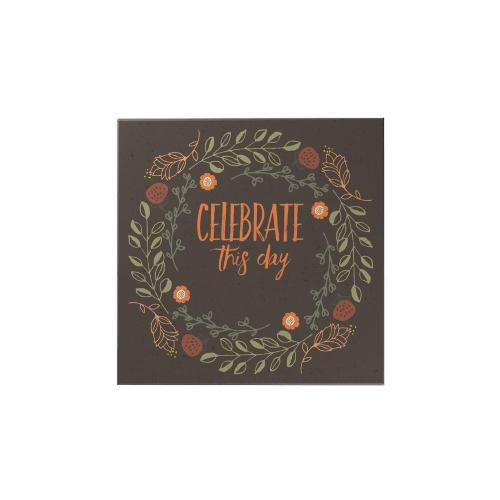 Celebrate This Day Personalized Magnet: Wreath