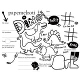 Dino Party Printable Activity Placemat